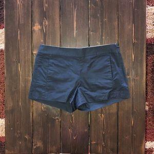 J. Crew Crisp Cotton Navy Short
